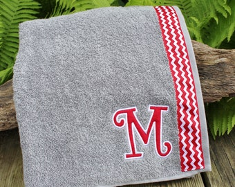 Light Gray - Spa Wrap Towel with SNAPS - Graduation / BRIDESMAIDS / Girls Trip Gifts / New Mom