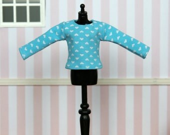 Long sleeved t-shirt for Blythe (no. 1436)