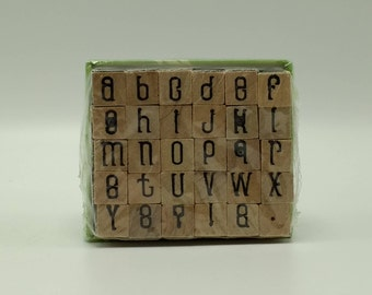 Letter Stamps Studio G Mini Alphabet Stamp Set Lower Case Letter