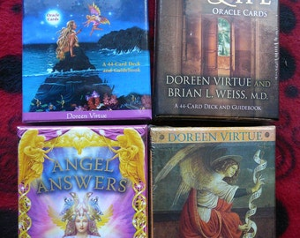 NEW - Assorted Doreen Virtue Oracle Cards - Your Choice