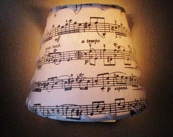 Sheet Music Night Light, Music Nightlight, Gift For Musician, Personalized Custom Night Light, Children's Room Night Light, Vivaldi Music