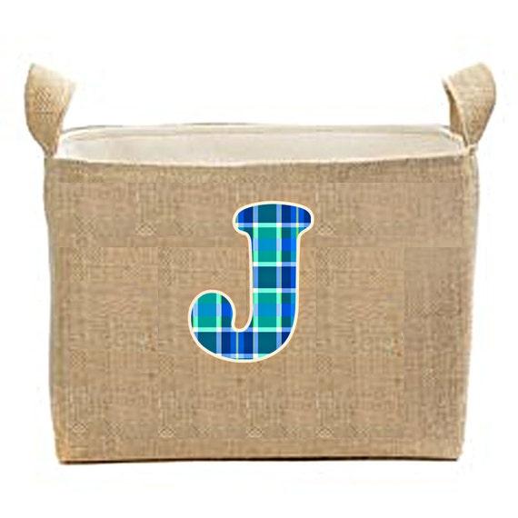 Easter Basket, Large Easter Buckets, Personalized Easter Bucket, Bunny Basket, Egg Basket, Children's easter bucket, burlap easter decor
