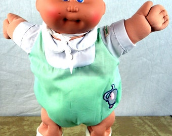 Vintage 1982 Cabbage Patch Doll - 1982 Original Appalachian Artworks, Inc Baby Collectible Toy