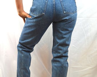Vintage 1980s 80s Lawman High Waisted Jeans - Size 9