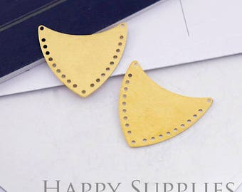 10Pcs High Quality Shield Pendant Charms / Connector(ZG334)