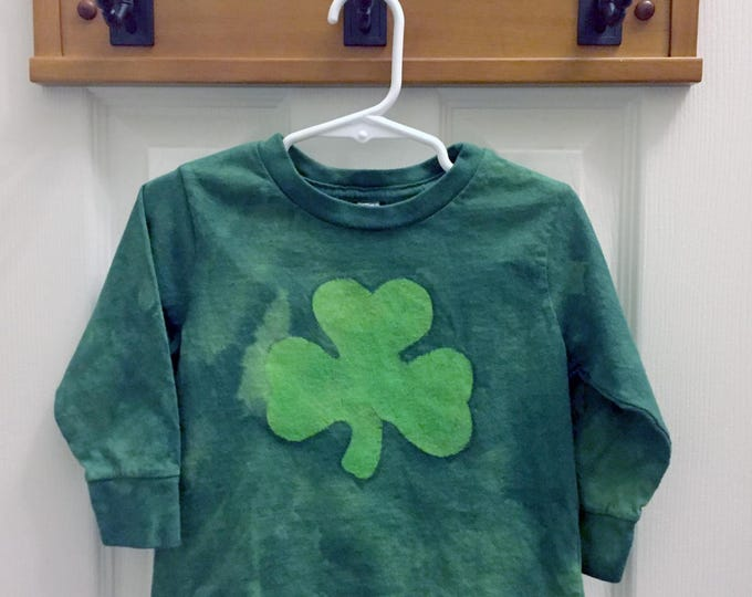 Kids St. Patrick's Day Shirt, Kids Shamrock Shirt, Boys Shamrock Shirt, Girls Shamrock Shirt, Toddler Shamrock Shirt (2T)