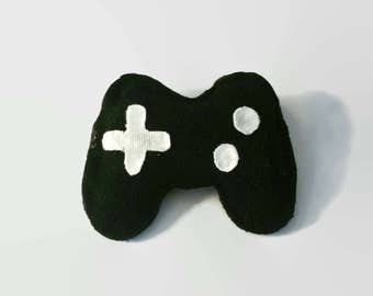 Natural Catnip Rattle Cat Toy - Game Controller