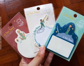 30 SHEETS, Little Prince sticky notes, Le Petit Prince, Sticky Memo, Little Prince memo, Little Prince post it note, SO