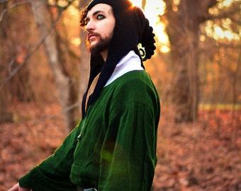 "Costume Hat. ""Ultimate Druid"" Hood. Sorcerer Cowl. Cosplay Hat. LARP"