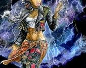 """Storm. 11 x 17"""" Artist Print (Print)"""