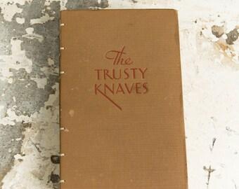 1933 TRUSTY KNAVES Vintage Notebook Journal