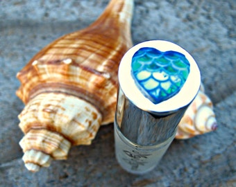 MAUI MERMAID PERFUME! Roll-on Perfume with notes of Water Lily, Pikake and Citrus.  Made in Hawaii. 1/6 fl oz (5 ml).