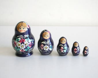 Small Russian Nesting Dolls