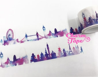 Ombre London City Washi Tape 30mm x 5m WT1029