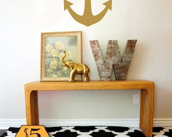ANCHOR Wall Decal / anchor decal, nautical wall decal, nautical decal, anchor wall decor, anchor wall art, nautical nursery, anchor nursery