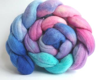 Sweet Peas Polwarth combed tops for spinning or felting