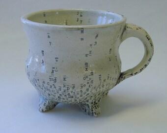 Typewriter Key Mug