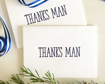 Groomsmen Thank You Cards - Groomsman Gifts - Thank You For Being My Groomsman Card - Best Man Gift  - Best Man Thank You Cards