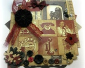 Graphic 45 Communique Collection Inspiration Kit Embellishment Kit Life Project Kit Scrapbook Layouts Cards Mini Albums and Paper crafts