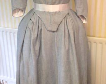 18th Century Round Robe in linen