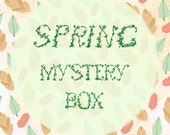Spring Mystery Box, Jewelry Box, The Lucky Dip,  Sweet Spring Jewelry Surprise Box