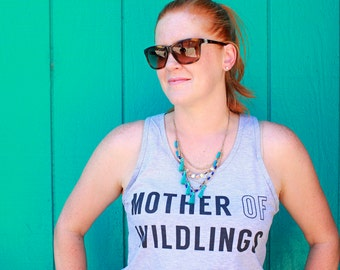 Mom Of Boys Tee, Workout Womens, Mother Of Wildlings TShirt, Mothers Day Gift, Mom Tee, Workout Tank For Her, Gift For Mom, Mom Life Shirt