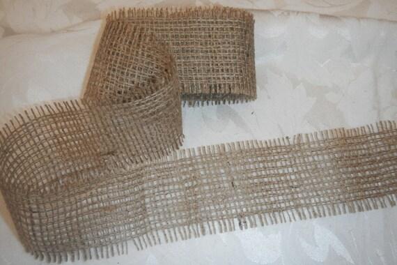 Basket Making Supplies San Diego : Burlap ribbon jute feet long wedding diy