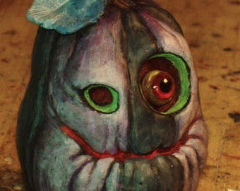 LIMITED EDITION Ghost Pumpkin Ornament by Tom Taggart