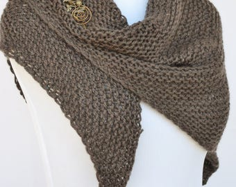 PDF Kniting Pattern for Outlander Inspired Shawl