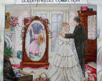 Paula Vaughan | THROUGH A FATHER'S EYES | Counted Cross Stitch Kit | Janlynn | Father Of The Bride