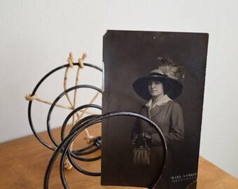 3 Vintage Black Mattress Springs - Industrial / Rustic / Farmhouse / Artisan / Photo Prop