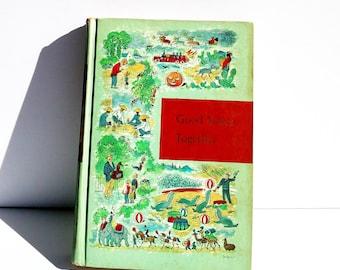 Good Times Together: Through Golden Windows Vintage 1958 Illustrated Children's Book