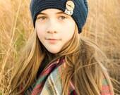 Crochet Handmade Slouchy Beanie Slouch Hat