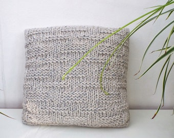 Wool Cushion, Winter Home Decor, Living Room Decor, Gift for Mother, Gift for Her