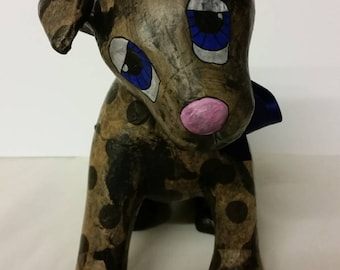 Whimsical Decoupatch Dog