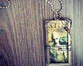 CLEARANCE - Marilyn Manson XIII -  pendant & ball chain