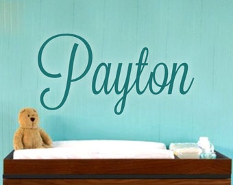 Custom Name Wall Decal - Name Decal - Nursery Name Decals - Name Wall Decal - Home Decor - Personalized Wall Decal - Lavandaria 1039