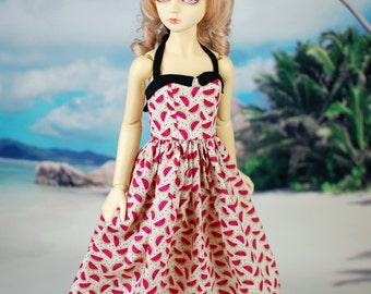 SD13 Watermelon Halter Dress For Ball Jointed Dolls