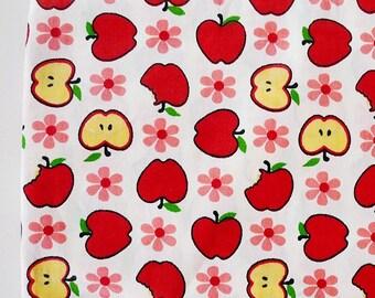 Apple Fabric, Fruit Fabric, Summer Fabric, Home Decor Fabric, Apparel Fabric, Quilting Fabric