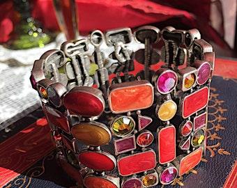 Vintage Enameled Bracelet