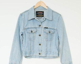 Pale denim jacket | Etsy