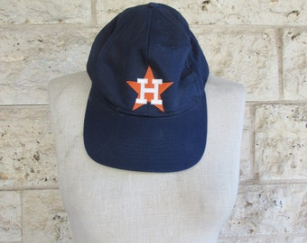 Astros Hat 70's Astro's Baseball Cap houston Vintage Astros MLB official Navy Embroidered ball cap