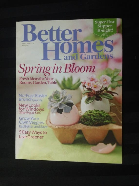 Better Homes And Gardens Volume 87 No 4 April 2009