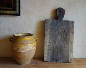 Vintage Wood Cutting Board  Vintage French / Chopping Block Antique