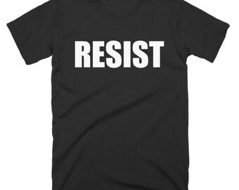 Resist T-Shirt Political Politics USA America United States Tee Shirt Tshirt Mens Womens S-5XL