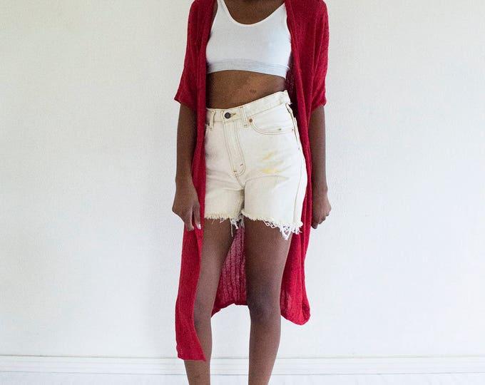 Minimalist Duster Robe