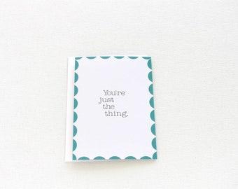 Love Card, Anniversary Card, New Baby Card, Nursery Decor, Couples Card, Boyfriend Card, Thank You Friend Card, Valentine Card - 160C