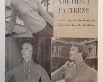 Three Youthful Patterns - Patons  313