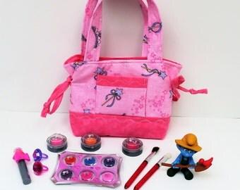 Pink Princess Little Girl Purse, Girls Purse, Purse for Girls, Childrens Clothes, Young Girls Purse, Toddler Bag, Children Accessories