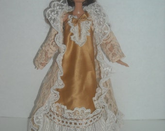 Barbie Lacy Nightgown with Robe